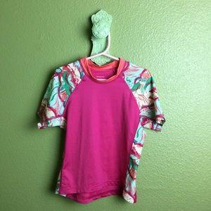 Patagonia Girls XS 5-6 Swim Water Shirt Rash Guard